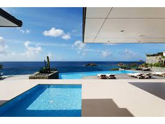 VILLA ROXANE ST. BARTH MASTERPIECE ON THE CARRIBEAN WITH MILES AND MILES OF MAGICAL SEA VISTAS